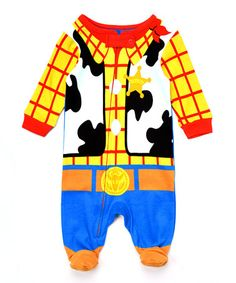 Loving this Toy Story Woody Costume Footie - Infant on #zulily! #zulilyfinds