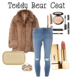 """""""Teddy bear coat"""" by awesomealexlocke ❤ liked on Polyvore featuring Michael Kors, Allurez, Yves Saint Laurent, Dorothy Perkins and Corto Moltedo"""