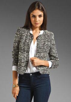 POPSUGAR Shopping: Of Two Minds Junie Basket Weave Jacket