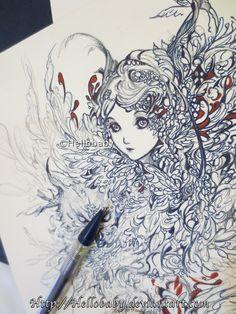 Owl by Hellobaby.deviantart.com on @deviantART