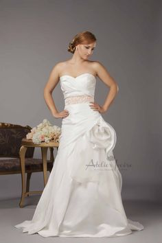 Wedding dress Teya by Atelier Ivoire