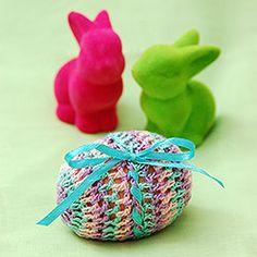 Szydełkowe Pisanki / Crochet Easter Eggs freebie pattern. Very cute, thanks so xox