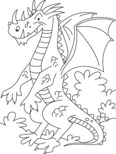 Dont wonder I still exist in China coloring pages Colouring Pages, Coloring Pages For Kids, Coloring Sheets, Baby Embroidery, Modern Embroidery, Pretty Mermaids, Dragon Coloring Page, Dragons, All Craft