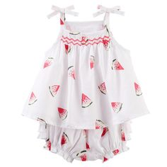 Baby Girl Watermelon Babydoll Set from OshKosh B'gosh. Shop clothing & accessories from a trusted name in kids, toddlers, and baby clothes.