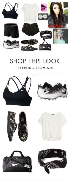 """""""Untitled #143"""" by thugpug887 ❤ liked on Polyvore featuring NIKE, Vans, H&M and claire's"""