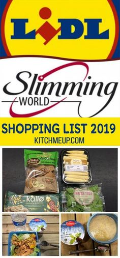 Lidl Slimming World Free Food and Low Syn shopping list astuce recette minceur girl world world recipes world snacks Slimming World Free List, Slimming World Meal Prep, Slimming World Shopping List, Slimming World Survival, Slimming World Recipes Syn Free, My Slimming World, Slimming Eats, Healthy Shopping, Lidl