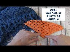 Chal triangular fácil de ganchillo para principiantes | crochet fácil - YouTube Fingerless Gloves, Arm Warmers, Crochet Hats, Youtube, Stitch, Pattern, Blog, Crafts, Videos