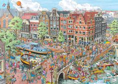 Ravensburger Cities of the World - Amsterdam - 1000pc Jigsaw Puzzle FOR SALE • £12.99 • See Photos! Money Back Guarantee. --> Citadel Clementoni Educa Eurographics Puzzles Falcon / Jumbo Gibson House of Puzzles JR Puzzles Orchard Toys Piatnik Pomegranate Ravensburger Schmidt Boards Glue Rolls Ravensburger Cities of the World - 131867585372