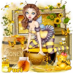 MI RINCÓN GÓTICO: CT for Sandy Designs, **Sweet Honey Bee**