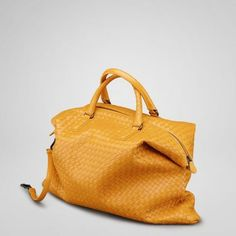 Authentic New Topaz Intrecciato Nappa Convertible Bag Style 193785 V0016 7 Discount   Bottega Veneta Fashion Show 2012