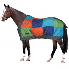 Coperta Horses Rainbow 300gr Horse Rugs, Equestrian, Blankets, Horses, Animals, Shopping, Bed Covers, Animales, Animaux
