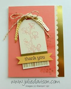 Julie's Stamping Spot -- Stampin' Up! Project Ideas Posted Daily: Control Freak Blog Tour: Occasions Catalog