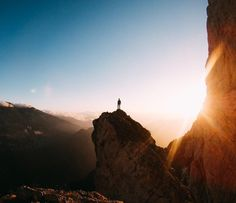Feeling small, above it all. @llorencbover started the day atop Lluis Estasen, a 700 meter #climbing route in #Catalonia. Where did the #weekend take you? Share with us at GoPro.com/Awards 🌄 • • • @GoProES #GoProES #Climbing #Sunrise #GetOutside #LiveAuthentic