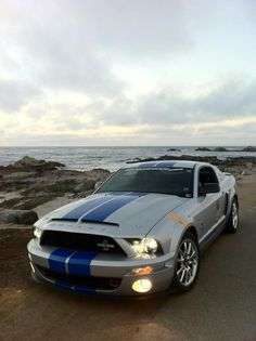 My 2008 Shelby GT500KR along 17 Mile Drive, Pacific Grove CA.