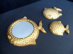 Home Decor Wall Plaques Mirror Syroco Mirrors by TheVintagePorch, $26.00