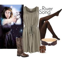 """""""River Song - A Good Man Goes to War"""" by ansleyclaire on Polyvore"""