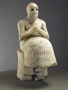 epic statues would be good sitting, shows a position of power
