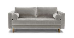 """Sven Intuition Gray 72"""" Sofa - Sofas - Article 