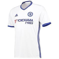 62399d3938b adidas Mens Gents Football Soccer Chelsea Third Shirt Jersey Season 2016-17