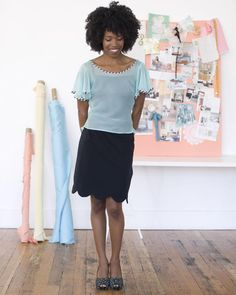 Sheer Blouse from Colette Sewing Book