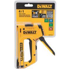 DWHTTR410 <p>4-in-1 Multi-Tacker</p>   DEWALT Tools