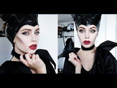 Halloween Series: Maleficent Makeup Tutorial - YouTube