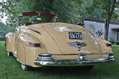 1947 Lincoln Zephyr Convertible Coupe | LINCOLN | Pinterest ...