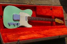 1962 Fender Custom Telecaster.