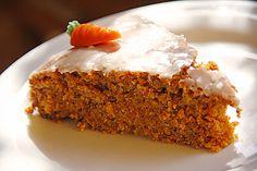 Karottenkuchen ohne Joghurt mit vielen Karotten ♡