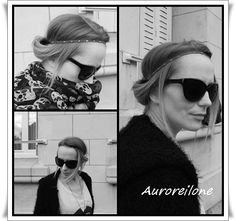 Article de la blogueuse Aurore Ilone avec le headband chaîne acier Jolie Tête - 17/10/12