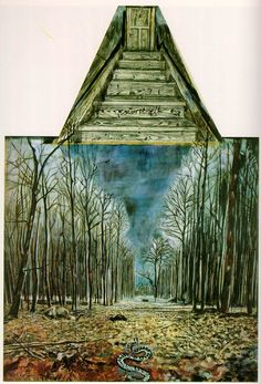 Anselm Kiefer, Resurrexit, 1973.  Collection Sanders, Amsterdam.