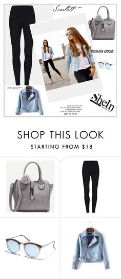 """""""SheIn 008"""" by ermina-camdzic ❤ liked on Polyvore featuring Le Specs, WithChic and shein"""