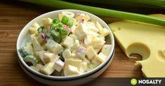 A saláta tuti fogás, ha az ember éppen hőgutát készül kapni. Jól lehűtve, zöldségekkel, fehérjével (hússal, hallal, tojással) turbózva, esetleg alternatív gabonákkal spékelve. Salad Recipes, My Recipes, Healthy Recipes, Hungarian Recipes, No Cook Meals, Bon Appetit, Healthy Lifestyle, Healthy Living, Food And Drink