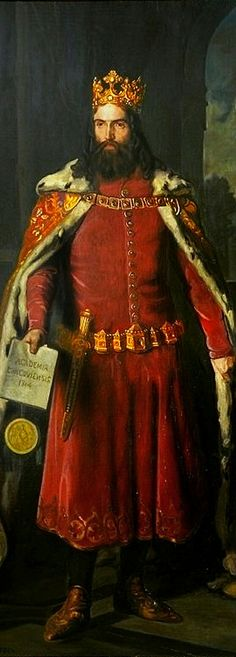 """Casimir III of Poland April 1310 – 5 November reigned as the King of Poland from 1333 to He was the son of King Władysław I (""""the Elbow-high"""") and Duchess Hedwig of Kalisz, and the last Polish king from the Piast dynasty. Polish Government, Polish People, Beard Art, Old Portraits, Flash Art, The 5th Of November, Ancient Art, Traditional Dresses, Adele"""