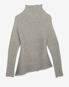 Articulated Wool Sweater by Helmut Lang