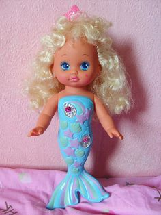 nostalgia Mattel Lil Miss Mermaid Doll oh my goodness this was my fav i loved her so 90s Childhood, My Childhood Memories, Best Memories, Retro Toys, Vintage Toys, Little Doll, Little Girls, Mermaid Dolls, Mermaid Art