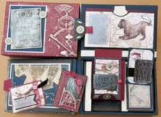 Masculine Inspirations in Paper & Crafts: Pop Up to the Moon - Constellations blog hop by Debby Hernandez