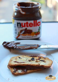 We've been obsessing over this for a while. THINaddictives + Nutella = Perfection!