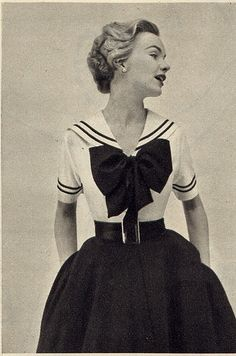 Vintage Fashion  -  I think I had a dress like this!!!!!