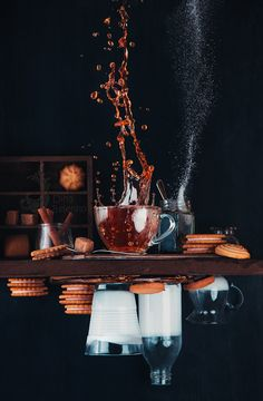 Upside and Down Again (with coffee) by Dina Belenko - Photo 151355685 - 500px