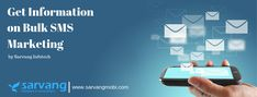 Bulk SMS is increasingly gaining popularity day by day. It is being used by a number of businesses to help them increase their growth. Therefore, it becomes important to hire a reputed SMS service provider. We at Sarvang Infotech offer the best services such as Promotional SMS, Transaction SMS, MyList (Opt-In SMS), Design and Development, Online marketing, IT consultancy, etc.  #bulksms #smsmarketing #sms #marketing #mobilemarketing #sarvanginfotech Mobile Marketing, Email Marketing, Mobile Number Verification, Online Templates, Security Service, Cloud Computing, Growing Your Business, Software Development, Digital Media