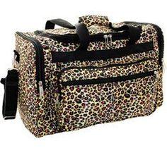 Love this cheetah bag.