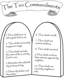 free coloring book 10 commandments coloring page new commandments coloring page commandments coloring page beautiful 10 commandments coloring pages catholic ten commandments coloring page 10 Commandments Catholic, 10 Commandments Craft, Bible Study For Kids, Bible Lessons For Kids, Kids Bible, Primary Lessons, Sunday School Lessons, Sunday School Crafts, School Daze