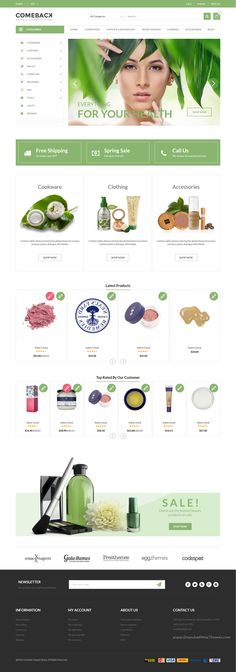 Comeback is wonderful responsive #Prestashop Theme for multipurpose #beautician #cosmetics eCommerce websites with 20+ stunning homepage layouts download now➝ https://themeforest.net/item/comeback-ecommerce-multipurpose-responsive-prestashop-theme/15981985?ref=Datasata