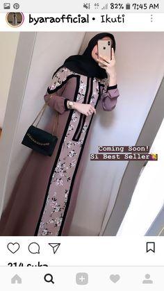 Stunning Fashion dresses illustration,African fashion plus size and Couture fashion tips. Modern Hijab Fashion, Batik Fashion, Islamic Fashion, Abaya Fashion, Fashion Dresses, Casual Hijab Outfit, Hijab Dress, Muslim Dress, Moslem Fashion