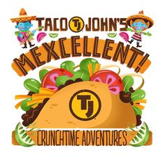 Taco John's  by Kael Little, via Behance