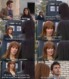"""I absolutely loved this scene! Hahaha """"She's engaged you prawn!"""""""