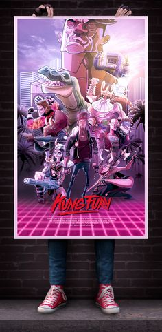 Kung Fury on Behance