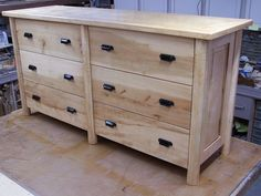 Plans of Woodworking Diy Projects - DIY Dumpster Dresser from Get A Lifetime Of Project Ideas & Inspiration! Building Furniture, Diy Furniture Plans, Woodworking Furniture, Furniture Projects, Diy Furniture Dresser, Furniture Design, Office Furniture, Wood Furniture, Adams Furniture