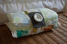 Sewing Barefoot: diaper strap